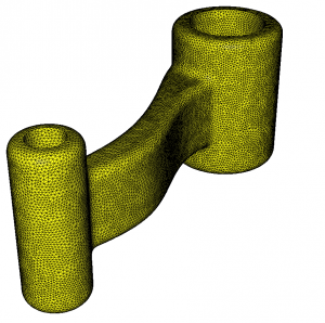 Figure 4: Final mesh for edge truncation at a maximal size of 0.05