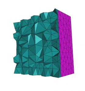 Figure 1: Initial cube mesh